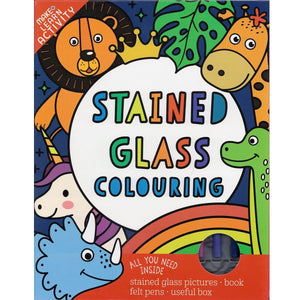 Magic Stained Glass Colouring, [Product Type] - Daves Deals