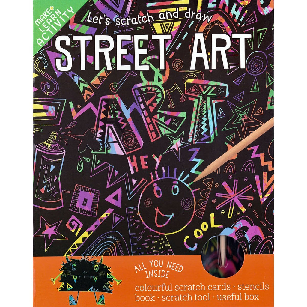 Scratch and Draw - Street Art, [Product Type] - Daves Deals