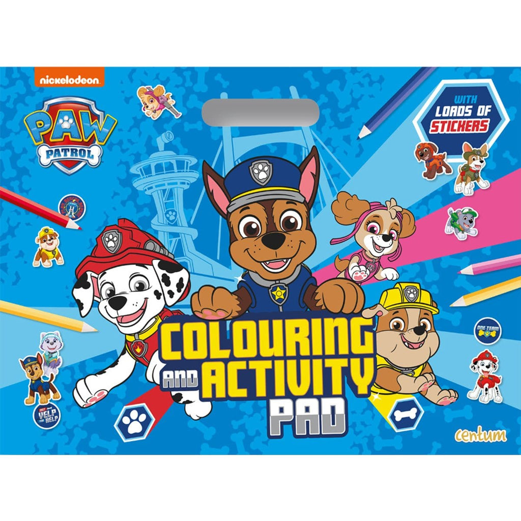 Paw Patrol Colouring & Activity Pad, [Product Type] - Daves Deals