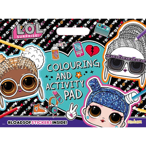 L.O.L. Surprise! Colouring & Activity Pad, [Product Type] - Daves Deals