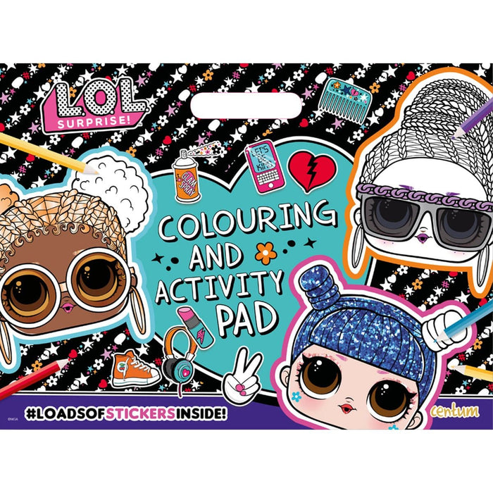 L.O.L. Surprise! Colouring & Activity Pad