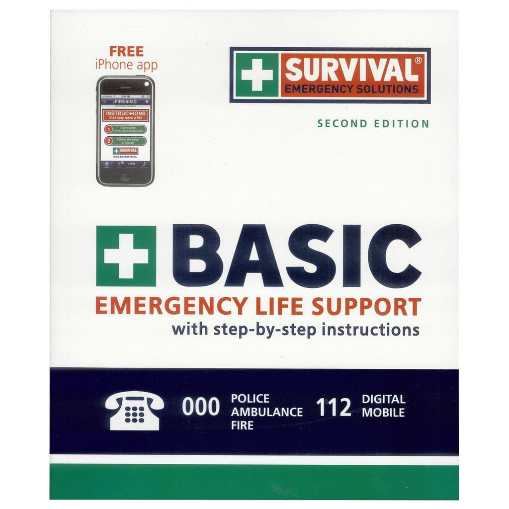 Basic Emergency Life Support with Step-by-step Instructions, [Product Type] - Daves Deals