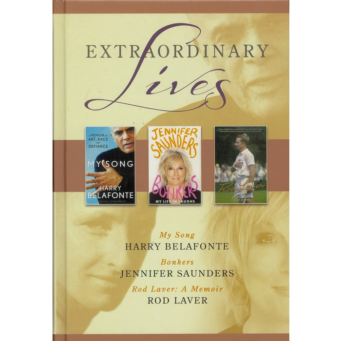 Extraordinary Lives 2, by Jennifer Saunders, Rod Laver