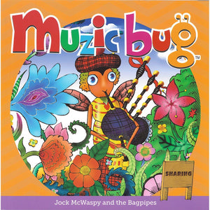 Muzic Bug - Jock McWaspy and the Bagpipes (Sharing) - Book 5, [Product Type] - Daves Deals