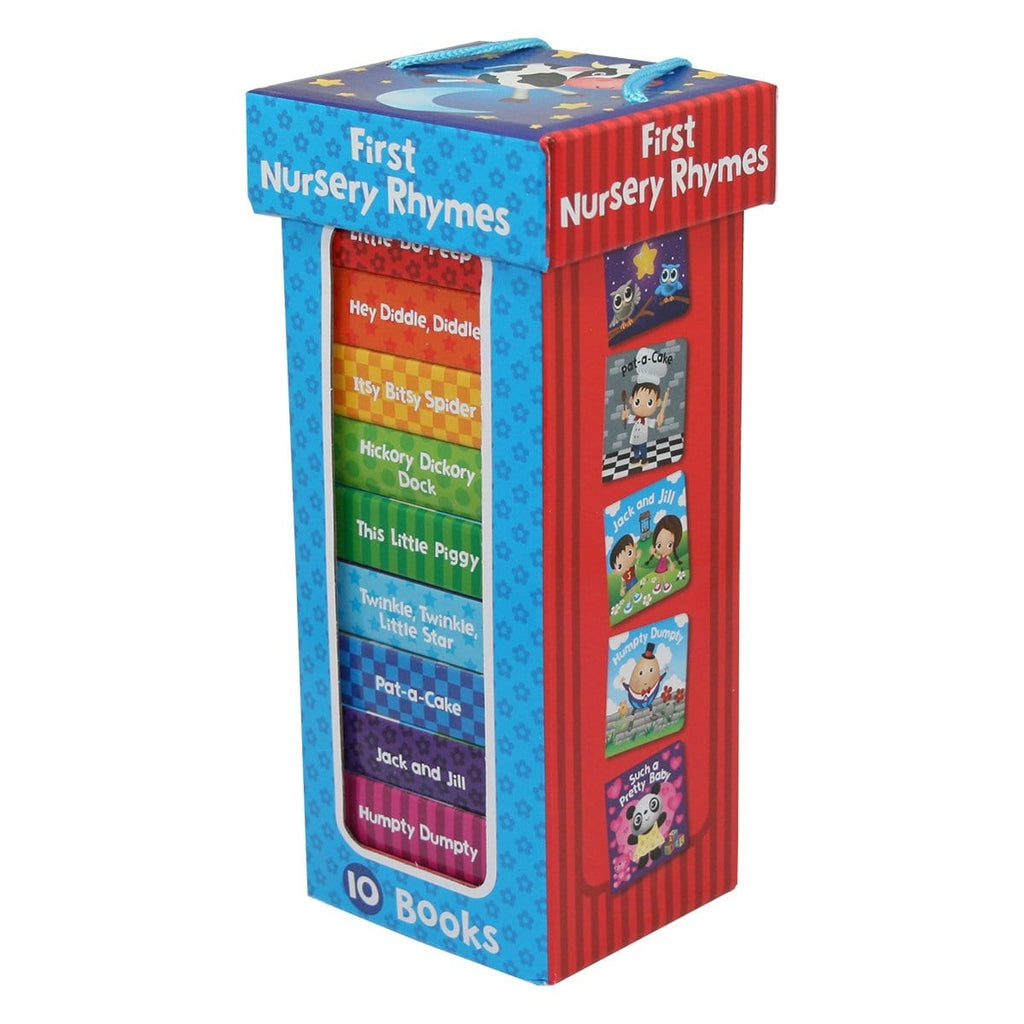 First Nursery Rhymes ( 10 Chunky Board Book Box Set ), [Product Type] - Daves Deals