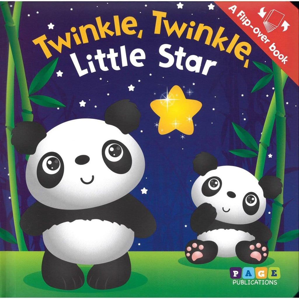 Flip-over Book: Twinkle Twinkle & Itsy Bitsy, [Product Type] - Daves Deals