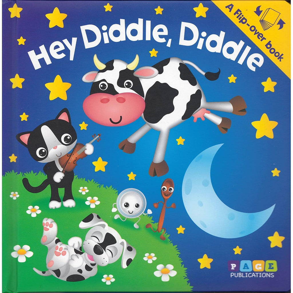 Flip-over Book: Hey Diddle & Mary Had a Little Lamb - Daves Deals
