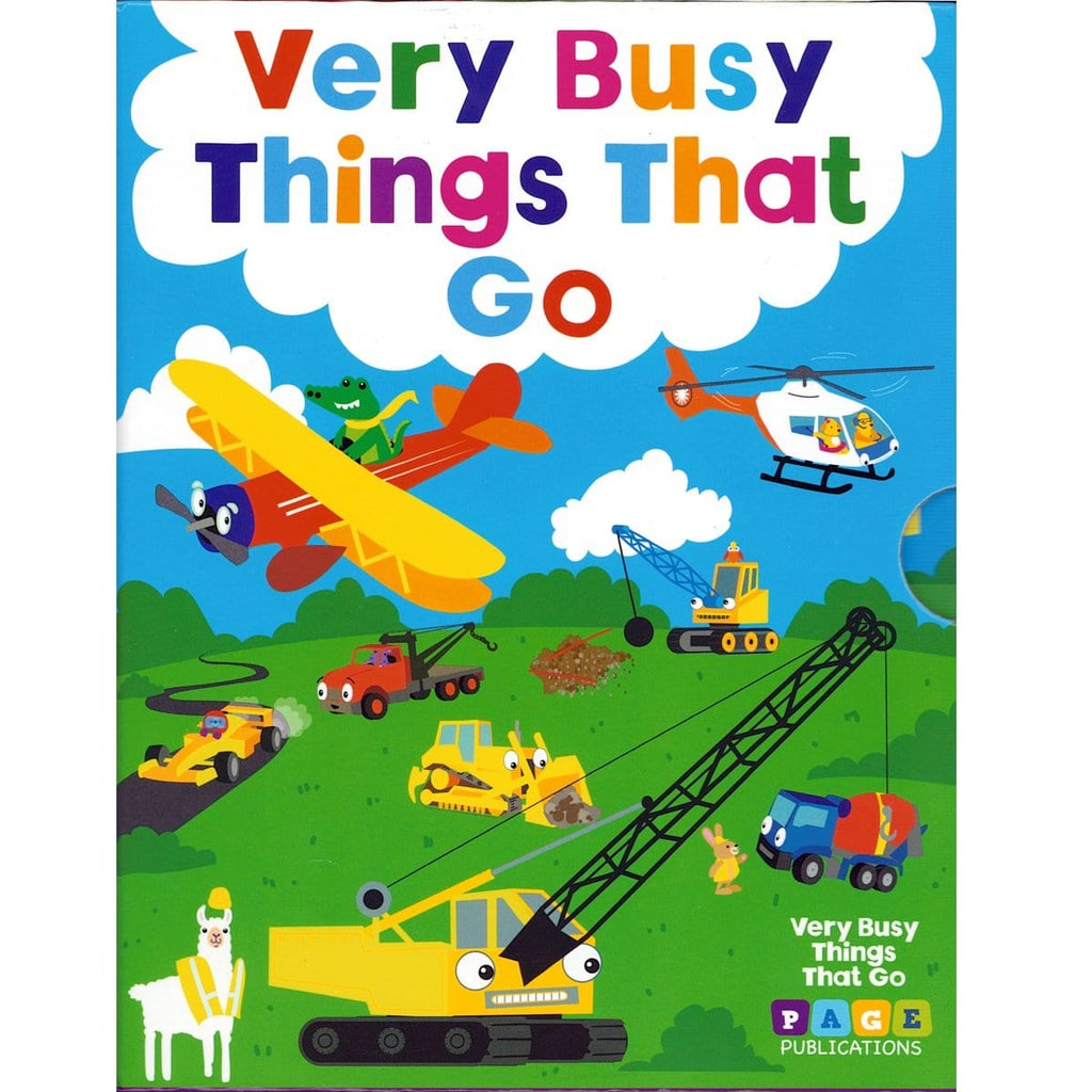 Very Busy Things That Go