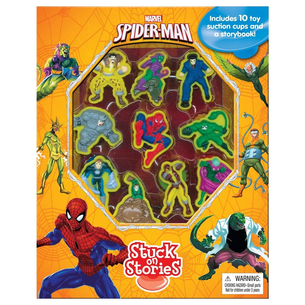 Marvel Spiderman - Stuck On Stories, [Product Type] - Daves Deals