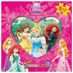 My First Puzzle Book - Disney Princess, [Product Type] - Daves Deals