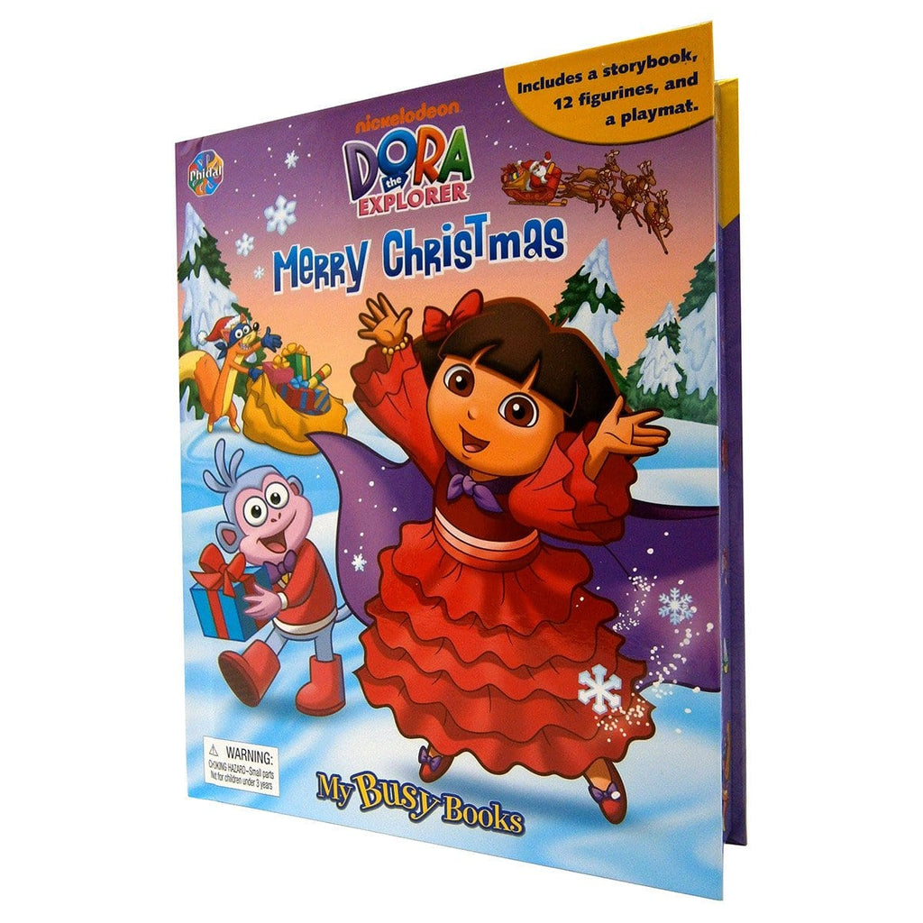 Dora The Explorer Merry Christmas Busy Book, [Product Type] - Daves Deals