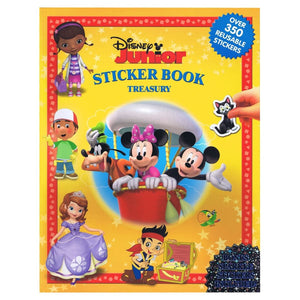 Disney Junior Sticker Book Treasury, [Product Type] - Daves Deals
