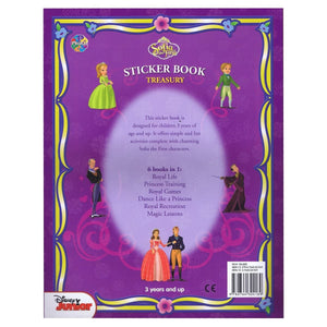 Sofia the First Sticker Book Treasury, [Product Type] - Daves Deals
