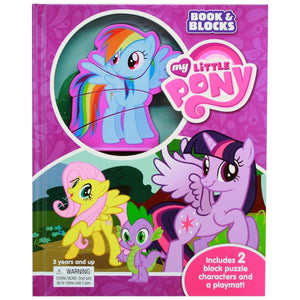 My Little Pony - Book & Blocks, [Product Type] - Daves Deals