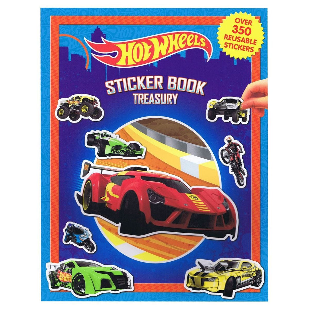 Hot Wheels Sticker Book Treasury, [Product Type] - Daves Deals