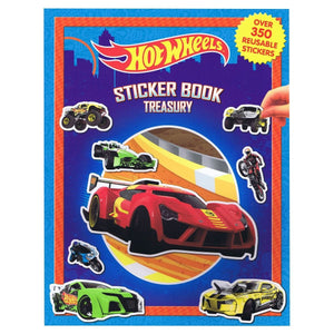 Hot Wheels Sticker Book Treasury