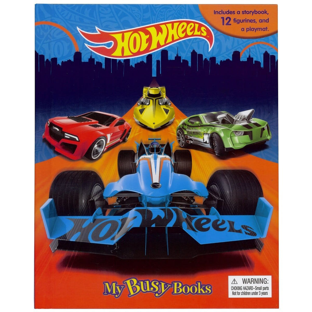 Hot Wheels - My Busy Books, [Product Type] - Daves Deals