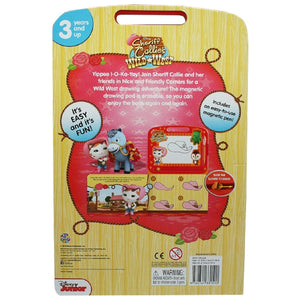Sheriff Callie's Wild West - Learning Book with Magnetic Drawing Pad, [Product Type] - Daves Deals