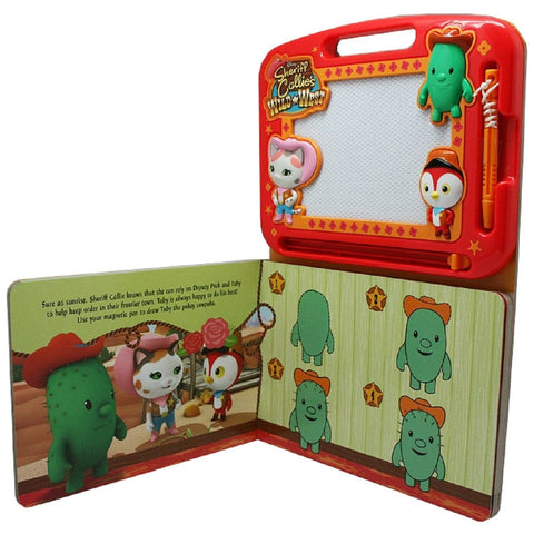 Sheriff Callie's Wild West Learning Book with Magnetic Drawing Pad