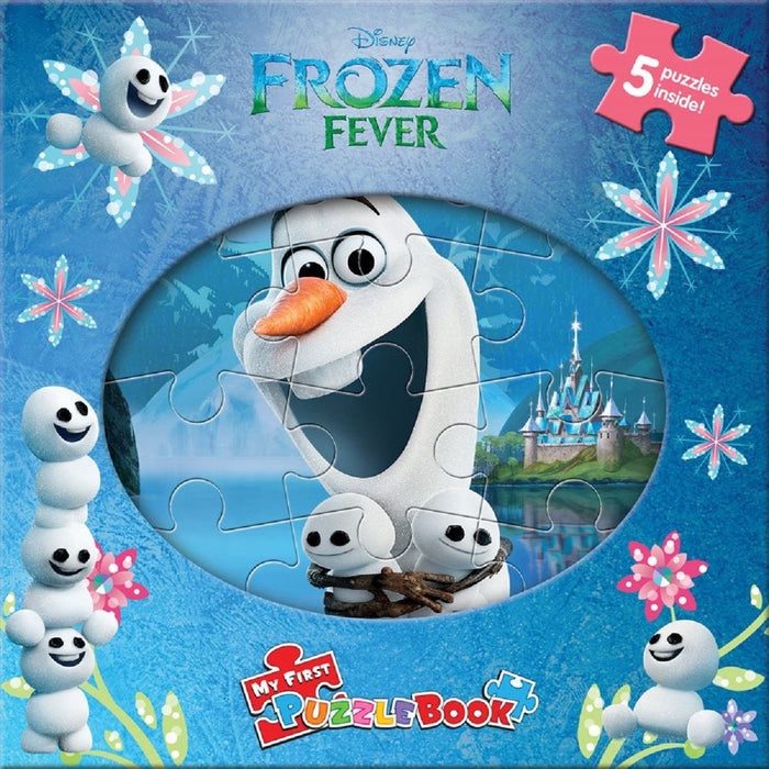 Frozen Fever - My First Puzzle Book