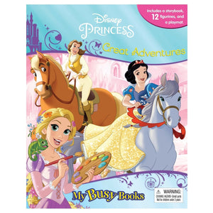 Disney Princess Great Adventures - My Busy Books, [Product Type] - Daves Deals