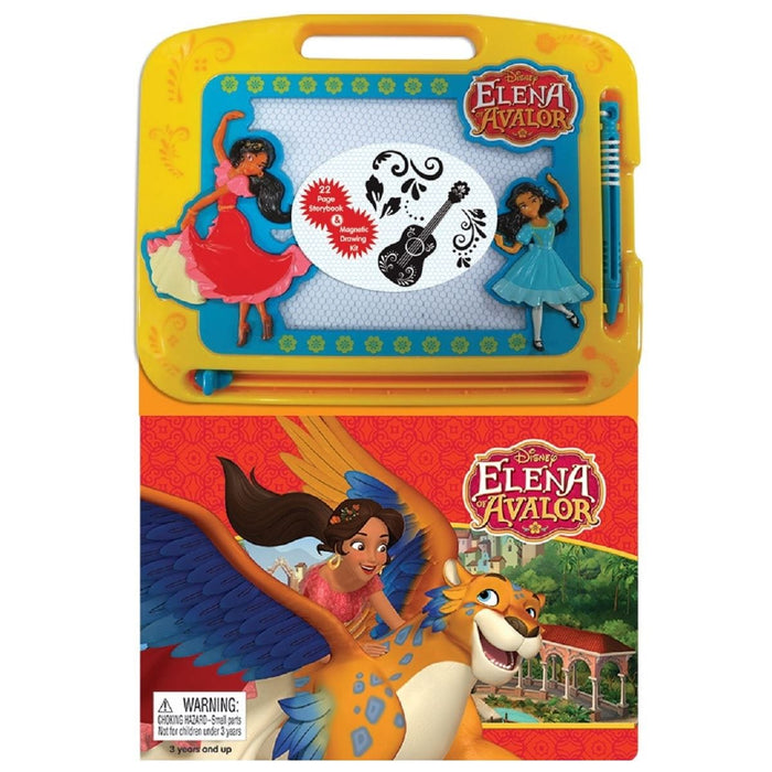 Elena of Avalor - Learning Book With Magnetic Drawing Pad