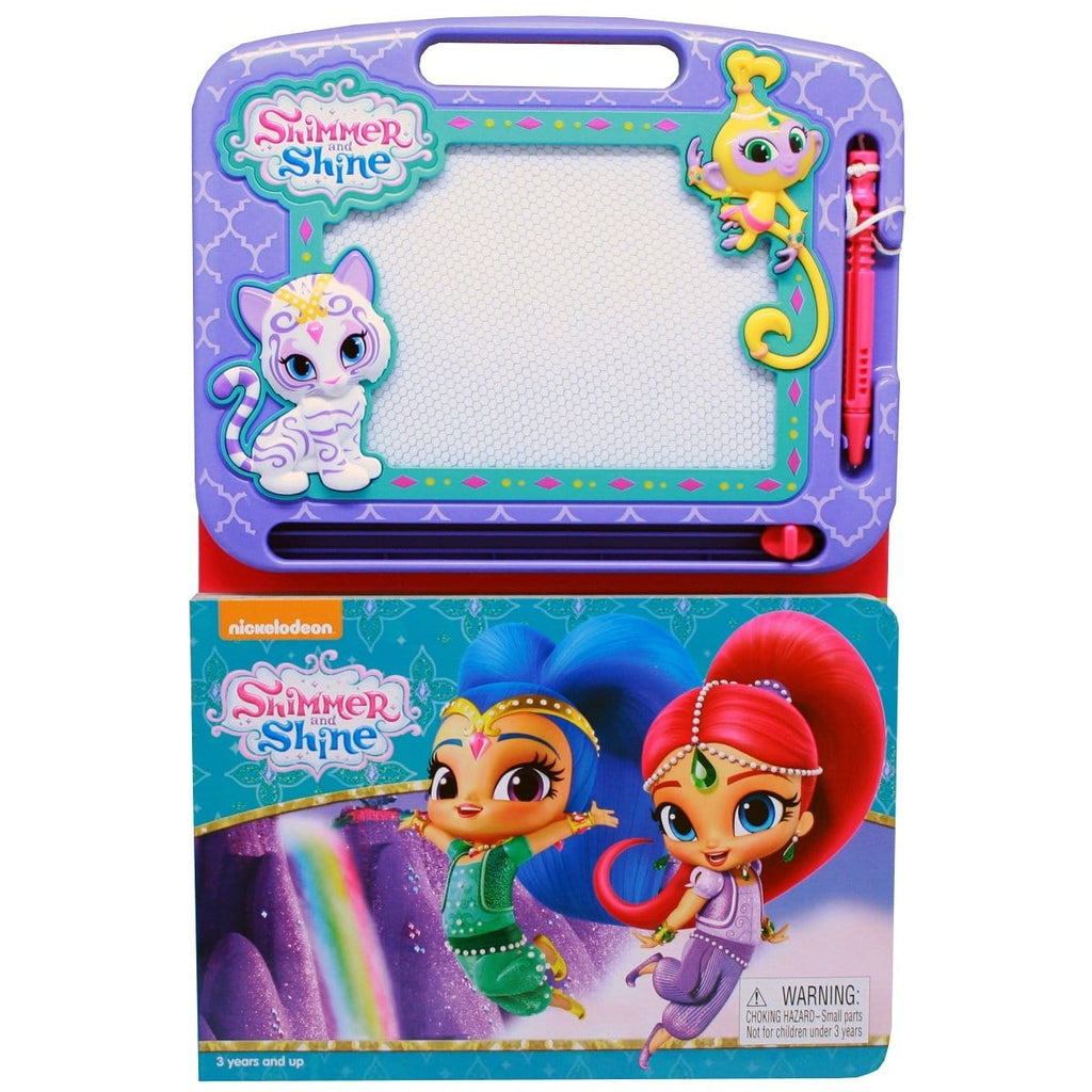 Shimmer and Shine - Learning Book with Magnetic Drawing Pad, [Product Type] - Daves Deals