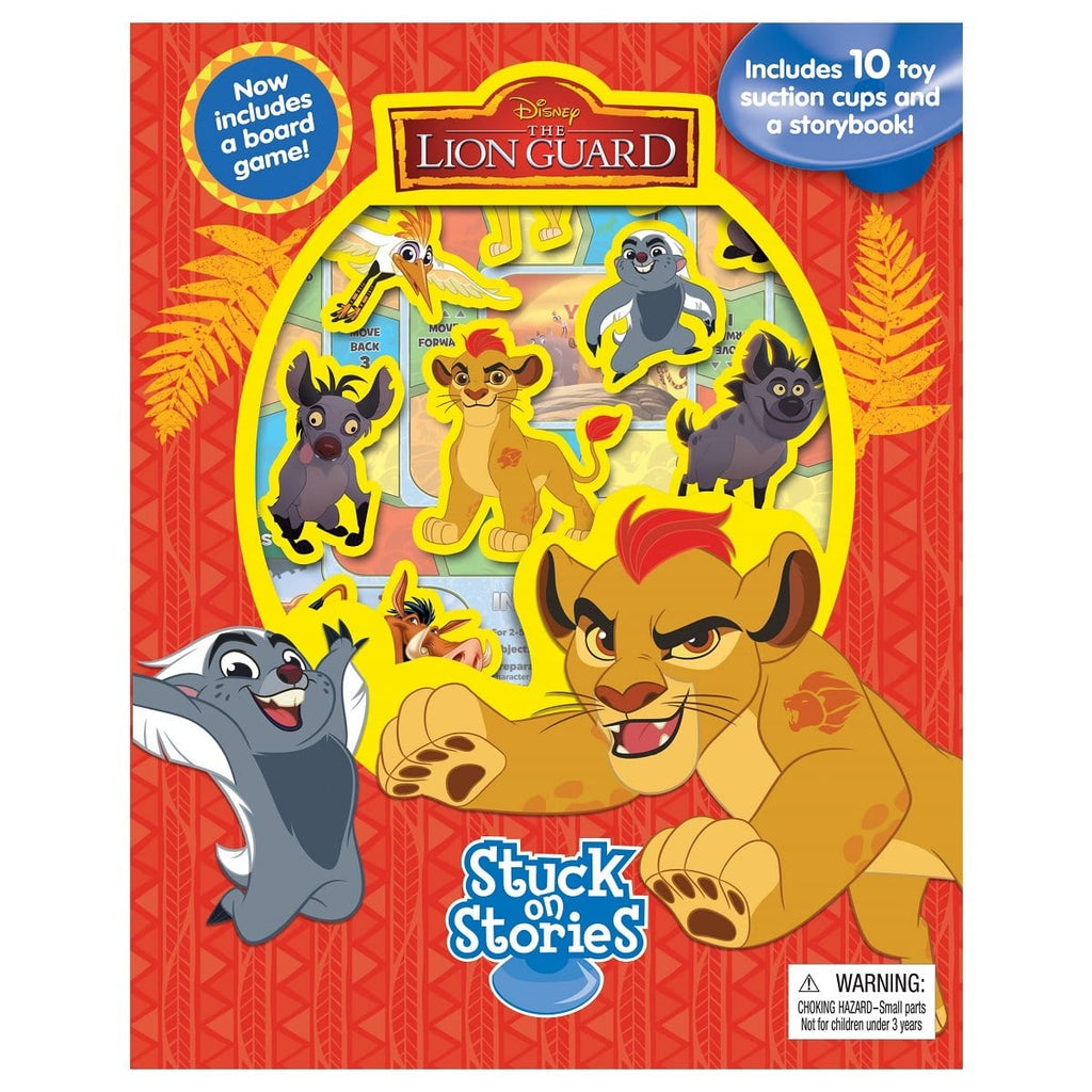 Disney The Lion Guard - Stuck On Stories, [Product Type] - Daves Deals