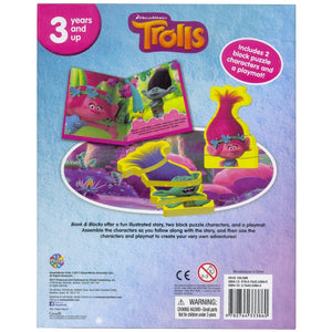 Trolls - Book & Blocks, [Product Type] - Daves Deals
