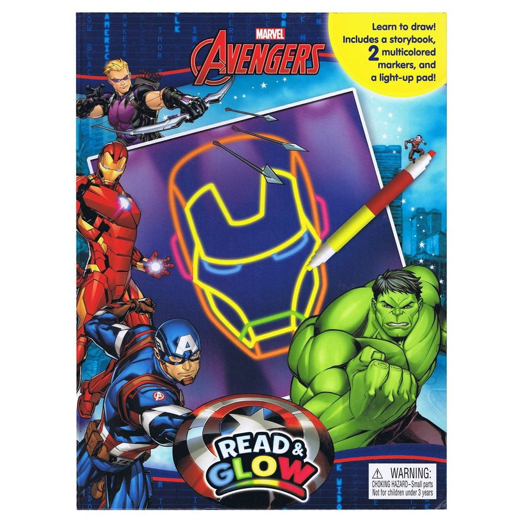 Marvel The Avengers - Read & Glow, [Product Type] - Daves Deals