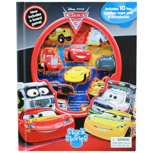 Disney Pixar Cars 3 - Stuck On Stories, [Product Type] - Daves Deals