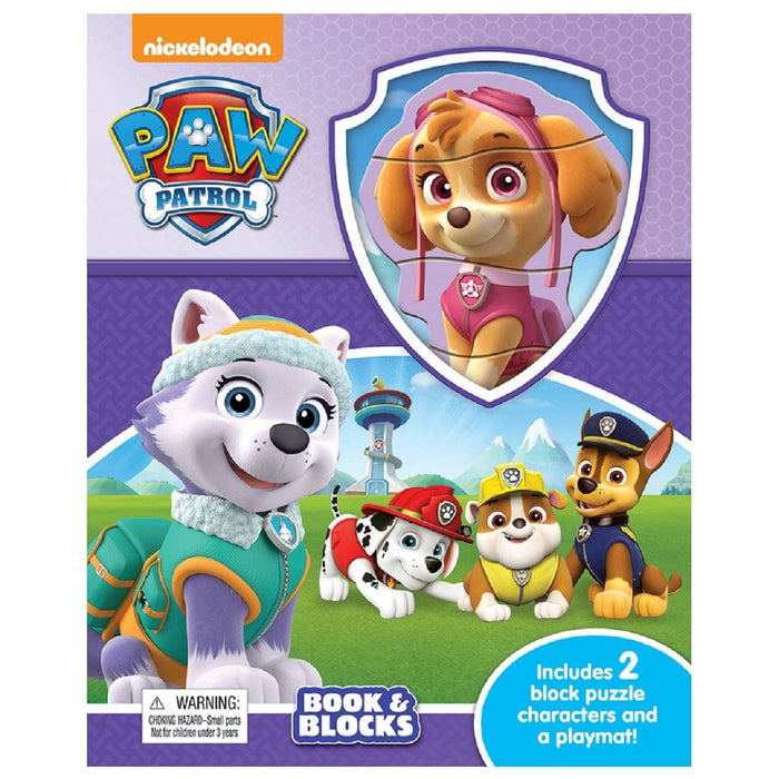 Paw Patrol Girls - Book & Blocks