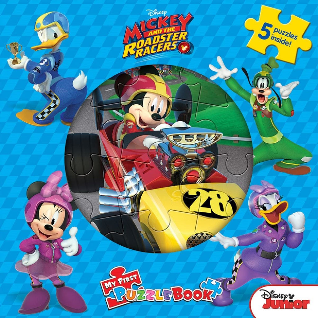Mickey and the Roadster Racers - My First Puzzle Book, [Product Type] - Daves Deals