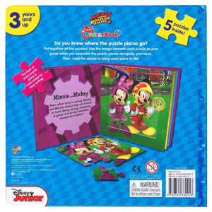 Mickey and the Roadster Racers - My First Puzzle Book - Daves Deals