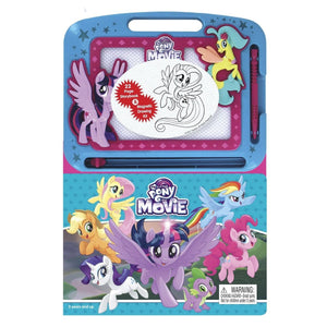 My Little Pony The Movie - Learning Book with Magnetic Drawing Pad, [Product Type] - Daves Deals