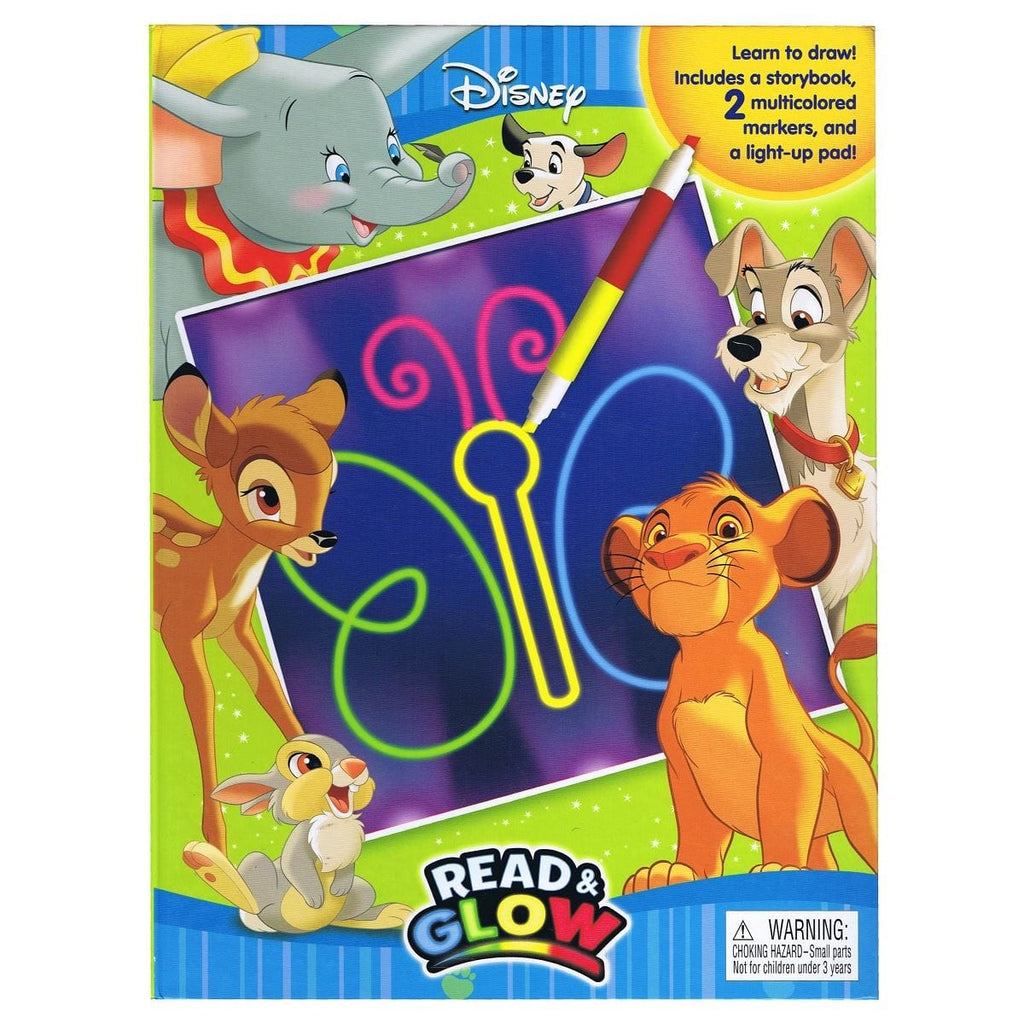 Disney Animals - Read & Glow