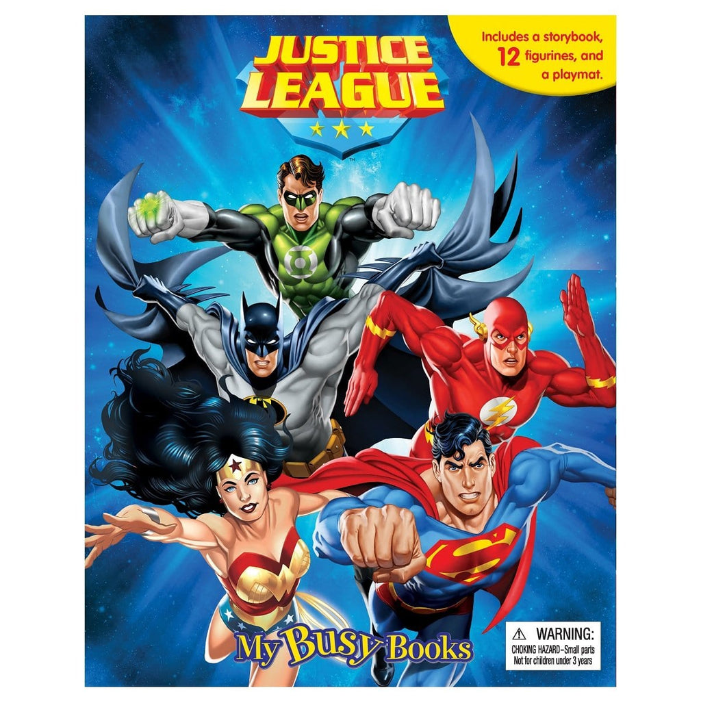 Justice League - My Busy Books, [Product Type] - Daves Deals