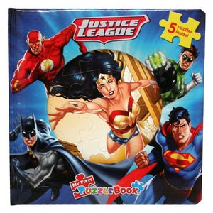 My First Puzzle Book - Justice League