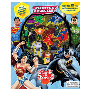 Justice League - Stuck On Stories, [Product Type] - Daves Deals