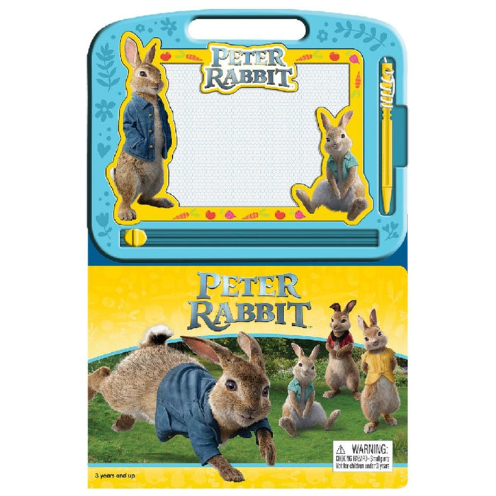 Peter Rabbit - Learning Book With Magnetic Drawing Pad