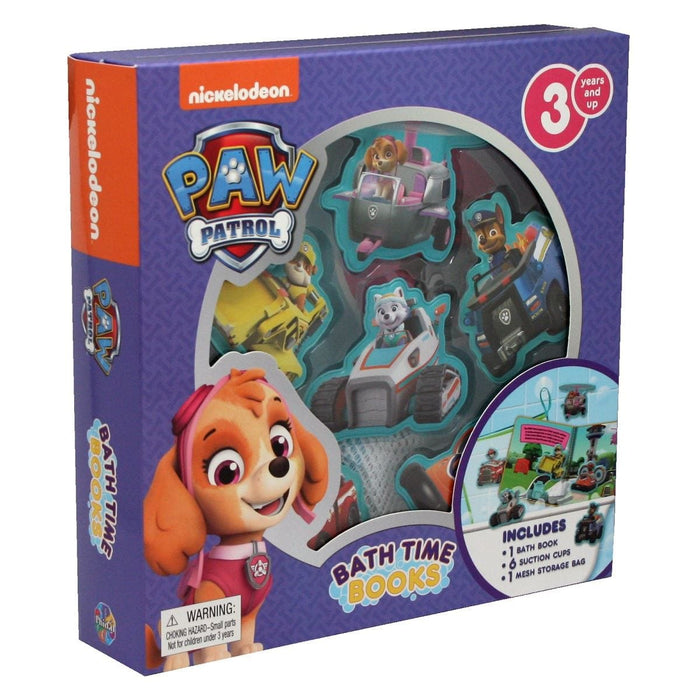 Paw Patrol Girls Bath Time Book Buddies