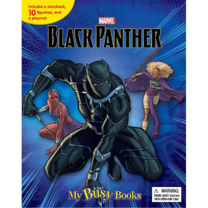 Marvel Black Panther - My Busy Books