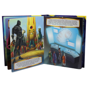Marvel Black Panther - My Busy Books, [Product Type] - Daves Deals