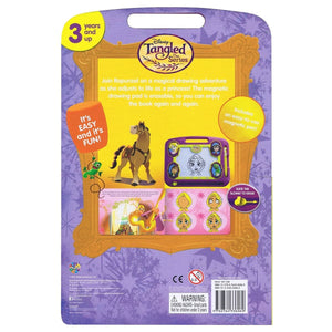 Tangled - Learning Book With Magnetic Drawing Pad, [Product Type] - Daves Deals