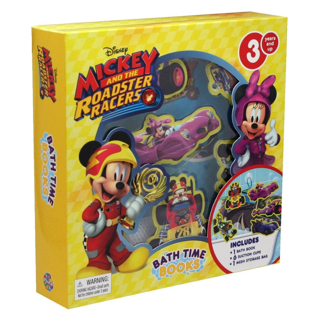 Mickey and the Roadster Racers Bath Time Book Buddies