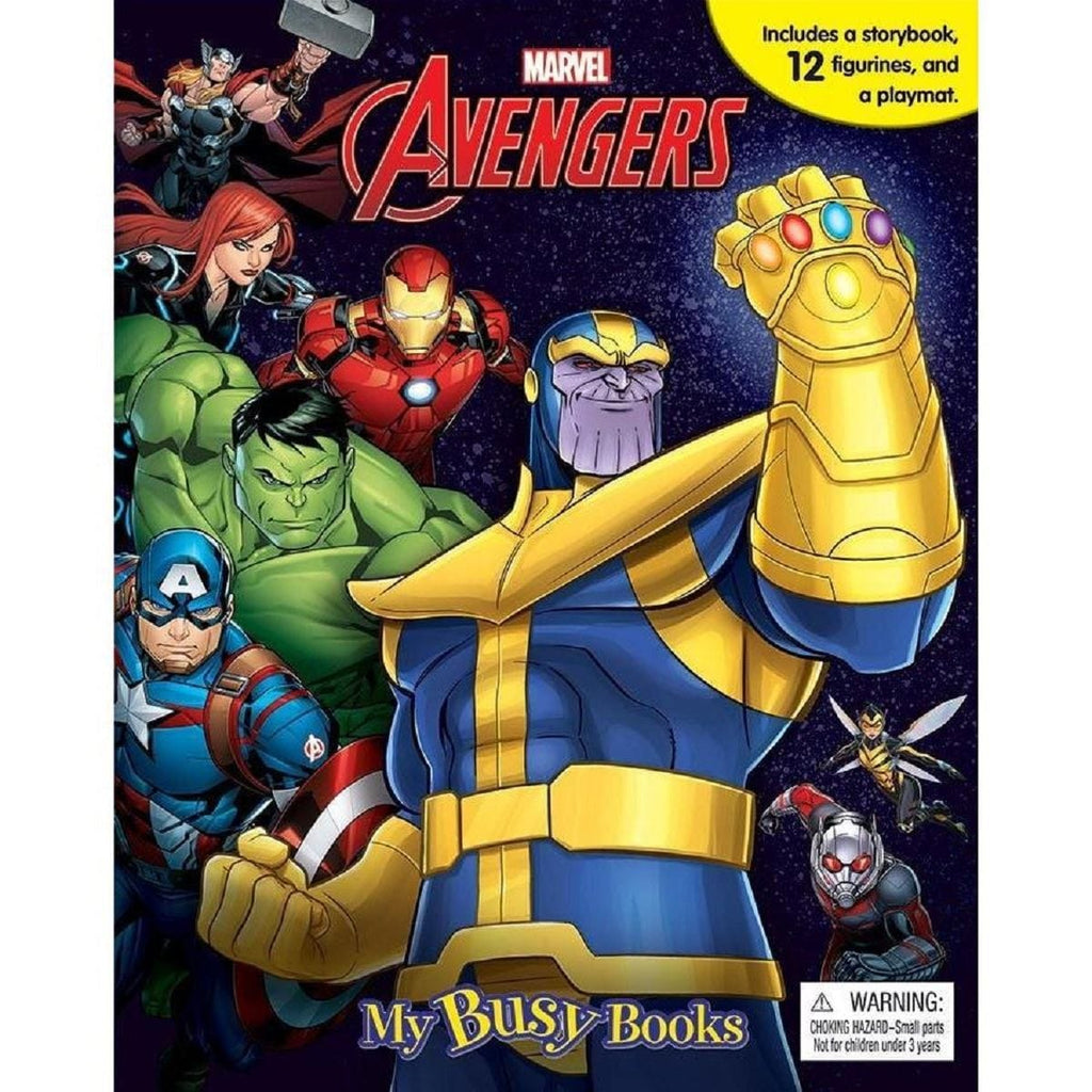Marvel Avengers - My Busy Books, [Product Type] - Daves Deals