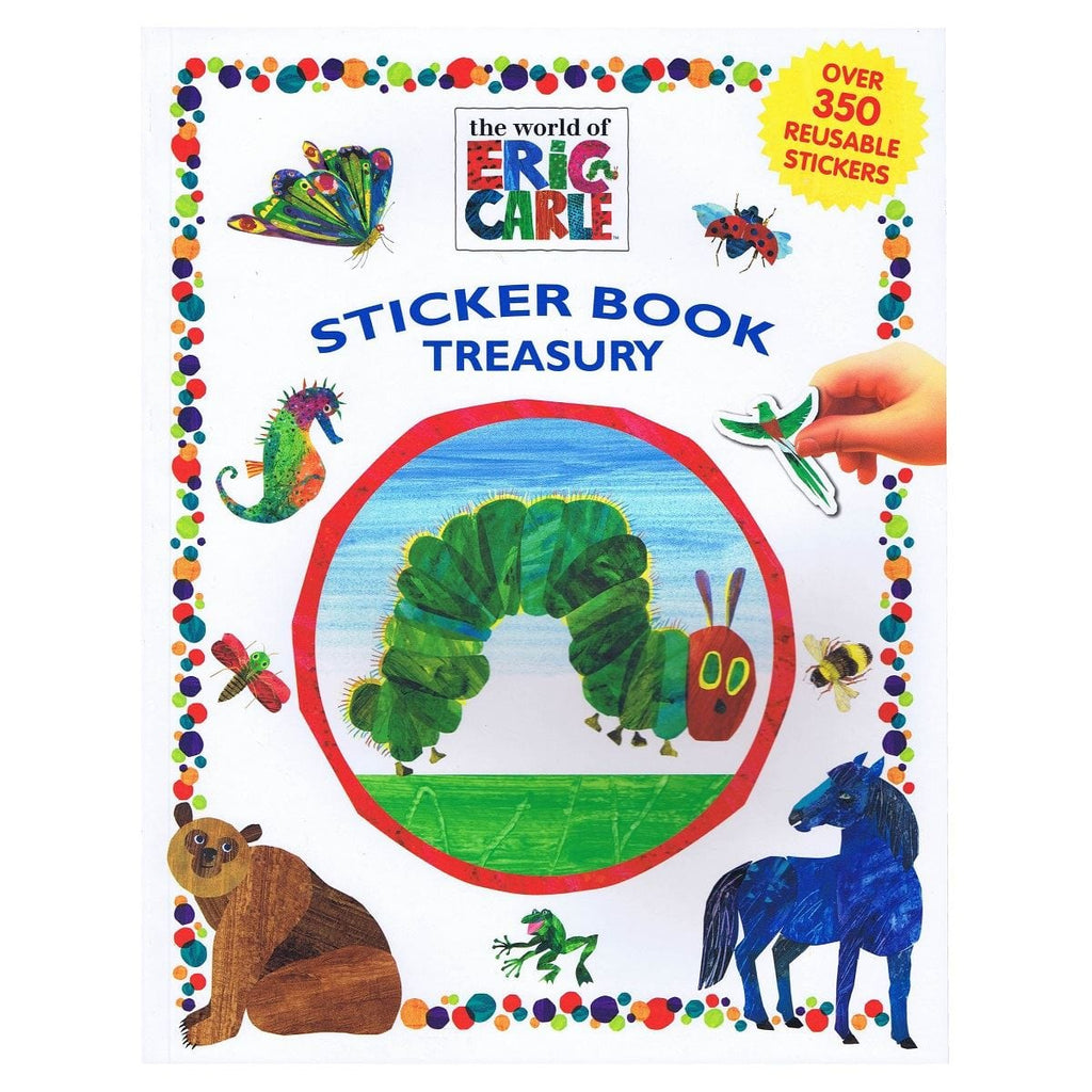 World of Eric Carle Sticker Book Treasury