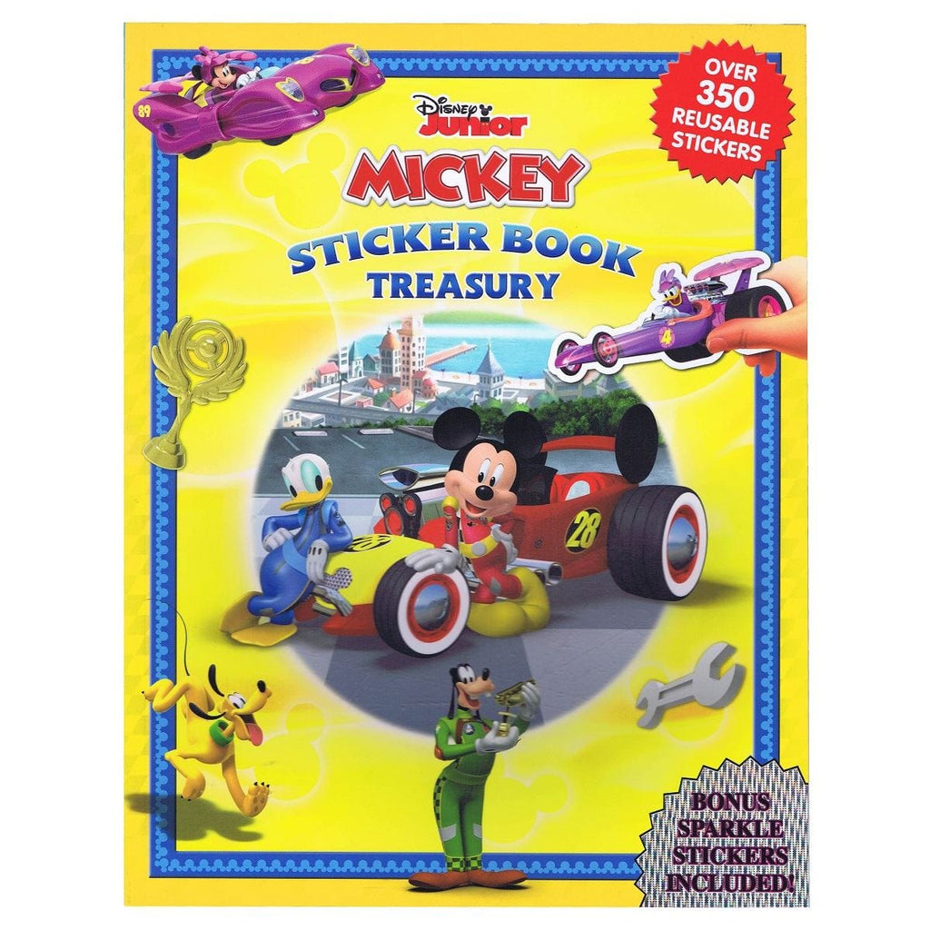 Disney Junior Mickey Sticker Book Treasury
