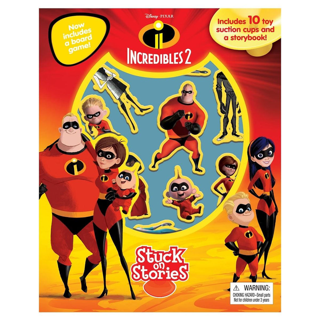 Incredibles 2 - Stuck on Stories, [Product Type] - Daves Deals