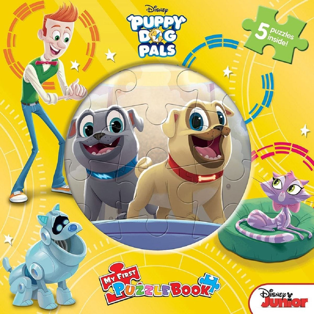 My First Puzzle Book - Puppy Dog Pals, [Product Type] - Daves Deals